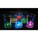 Liquid Activated LED Shot Glasses
